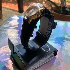 Casio Accessories - Casio Women's Black Leather Watch